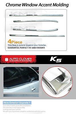 Window Sill Trim Chrome Cover Molding A856 Fit KIA 2011 2012 2013 Optima / K5