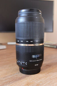 Canon EOS: Tamron SP AF 70-300mm f/4-5.6 Di VC (Mint condition)