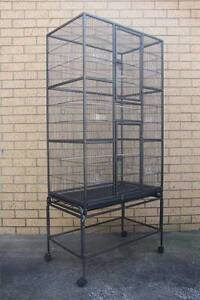 174cm Bird Cage Parrot Aviary Pet Stand-alone Budgie Perch Castor Mordialloc Kingston Area Preview
