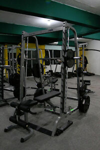 Body-Solid Series 7 Smith Machine & Bench- Commercial Grade