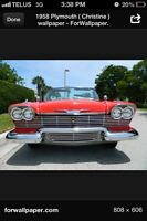 1957 plymouth parts WANTED