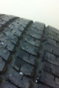 TWO. 185/65/15 GOODYEAR MUD AND SNOW TIRES.  $45