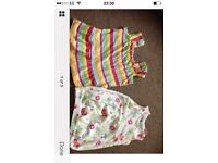 Baby girl dresses x2 new without tags 0-3 months
