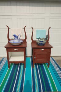 2 Antique Wash Stands See Each Price --