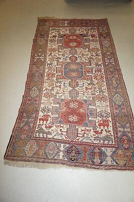 Alter Turkmenischer Sumak, handgeknüpft - ca. 190 x 103 cm