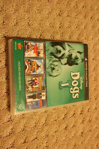 4-movie Walt Disney collection of movies involving dogs