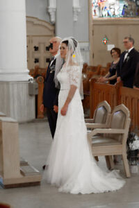 Élégante robe de mariage