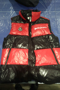 ***EXCLUSIVE MONCLER X PALM ANGELS GENIUS 2 TONE VEST SIZE 4****