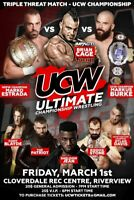 ULTIMATE CHAMPIONSHIP WRESTLING MONCTON MAR 1 AT COVERDALE REC