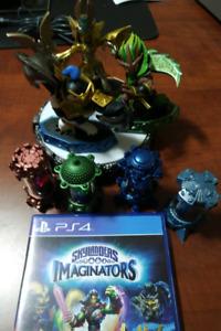 Skylanders Imaginators PS4 w/ crystals
