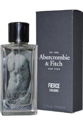 ABERCROMBIE & FITCH FIERCE 1.7 oz ( 50 ML ) EAU DE COLOGNE SPRAY MEN NIB SEALED for sale  USA