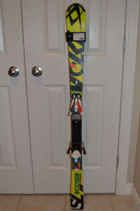 Volkl RaceTiger SpeedWall SL131 cm and Bindings
