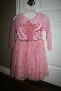 Sleeping beauty costume size 4-6x