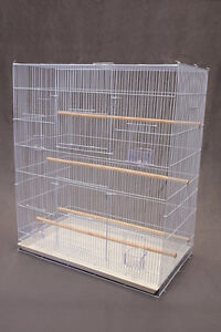 "30""x18"" Flight Cage for Small Medium Bird Finch Canary Budgie"