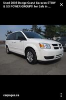 Dodge grand-caravane stow & go se 2008