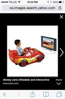 Disney cars inflatable and interactive car
