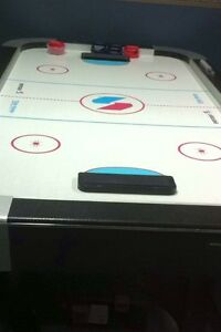table de hockey sur coussin d air