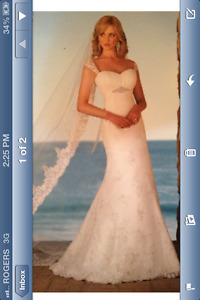 Reduced to $400 - BRAND NEW ELLA WEDDING DRESS