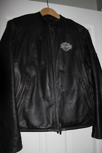 Harley Davidson women's leather, jacket, chaps, gloves,