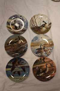 Full Set 6-Piece Wings Upon the Wind Collector's Plates