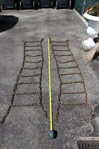 Tractor Chains with Spikes
