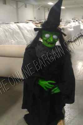 Grandinroad Halloween Animated Witch Candy Stand Bowl Talking Prop Decor Scary ](Grandin Road Halloween Decorations)