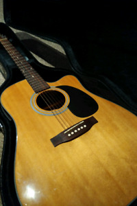 Acoustic Electric w/ Case for sale
