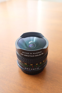 Fisheye Zenitar 2.8/16 MC Lens for Canon EOS Camera