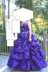 Wedding or prom dress
