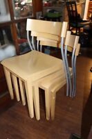 Ikea Stackable chairs