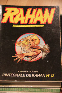 Collection de 18 bandes dessinées RAHAN