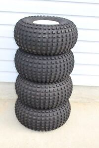 Four New Tub Trailer Tires And Rims