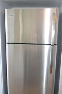NEW Stainless Steel Frigidaire 18 cu.ft. Top Freezer Fridge