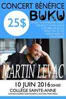 Spectacle benefice - Martin Levac