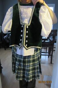 Highland Dance Competition outfit