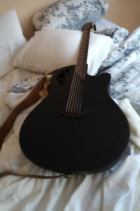 Ovation acoustic guitar