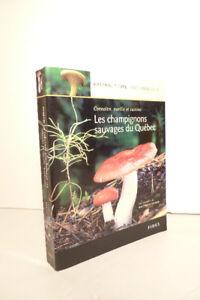 Les champignons sauvages du Québec