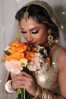 $75 Makeup, Hairstyling, and Henna Services by @nishartistry