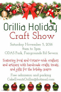 5th Annual Orillia Holiday Craft Show
