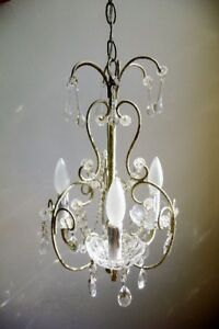 Rustic Shabby Chic Chandelier