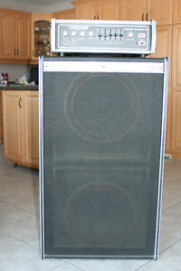 Traynor MonoBlock II Bass Amp and 2150 Cabinet