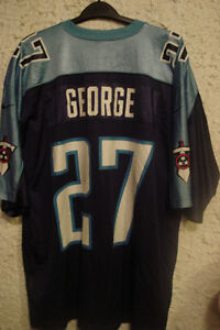 NFL George #27 Titans Jersey