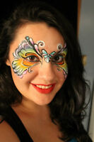 Awesome Face Painter – body painting!