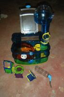 Habitrail hamster cage for sale with accessories.