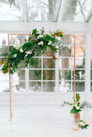 Wedding Arches, Backdrops, Arbors and Decor for Rent