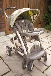 Sturdy foldable Greco stroller