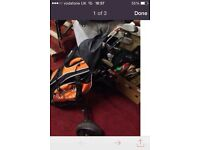 Calloway golf bag with caddy