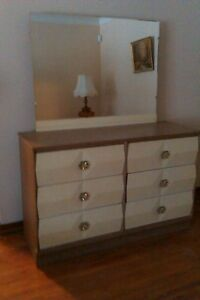 Ganite look double bedroom set