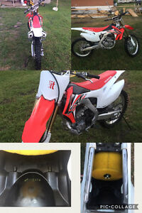 Barely used dirt bike