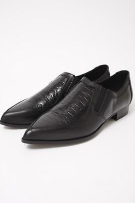 NIB WOMEN'S INTENTIONALLY BLANK CRANZ SHOES BLACK LEATHER OXFORD Size US 7 349$